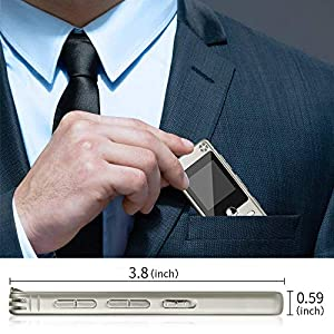 16GB Portable Audio Recorder IIDA Voice Activated Sound Recorder with FM Radio/MP3 Player/USB Flash Drive/Passward/Line-in/Playback/A-B Repeat Recording Device for lectures/Meeting/Interview/Speech (Color: Gold, Tamaño: 16GB)