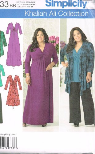Simplicity Khaliah Ali Collection Pattern 1733