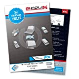 AtFoliX FX-Clear screen-protector for Sigma SD14 (3 pack) - Crystal-clear screen protection!