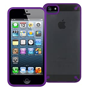 Minisuit Kinnect Case for iPhone 5/5S (Hybrid Cover) Purple