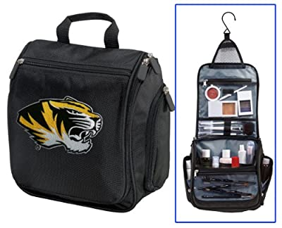 Best Cheap Deal for University of Missouri Toiletry Bags Or Hanging Mizzou Shaving Kit from Broad Bay - Free 2 Day Shipping Available