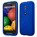 Motorola Moto E Cruzerlite Bugdroid Circuit Case For Motorola Moto E - Blue