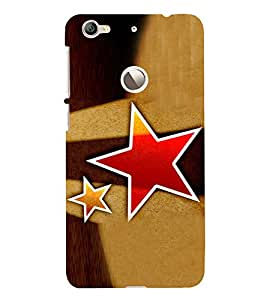 Red Star 3D Hard Polycarbonate Designer Back Case Cover for LeEco Le 1s :: LeEco Le 1s Eco :: LeTV 1S