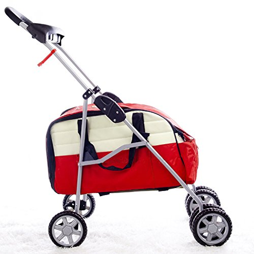 Red Pet Stroller/Carrier/Car Seat