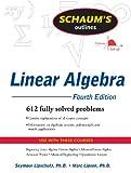 Schaum's Outline of Linear Algebra, 4th Edition