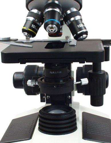 Omax 40X-1600X Lab Trinocular Darkfield Biological Compound Microscope Dry Darkfield Condenser