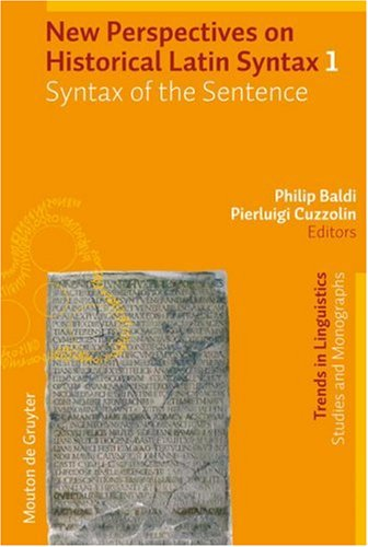 Syntax of the Sentence (Trends in Linguistics. Studies and Monographs)