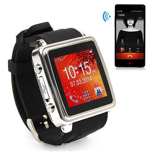 Touch Screen Bluetooth Sync Calls Sms Smart Watch Smartwatch For Iphone Android