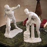 Design Toscano WU972383 Klassische Griechische Skulptur Le Gladiateur Borghese und