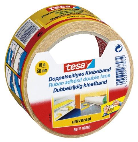 tesa-Doppelseitiges-Klebeband-fr-Teppich-Verlegung-sowie-Bastel-und-Dekorationsarbeiten-10m-x-50mm