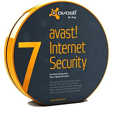 AVAST Internet Security Version 7 for 2012 (3 Users/PCs) - 2 Year Protection