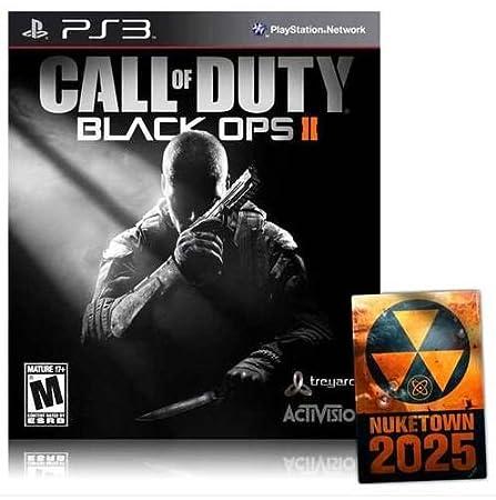Call of Duty Black Ops II 2 + NUKETOWN 2025 BONUS MAP DLC [USA English Edition] PlayStation 3 PS3 GAME