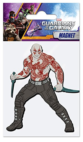 Marvel Drax The Destroyer Soft Touch PVC Magnet - 1