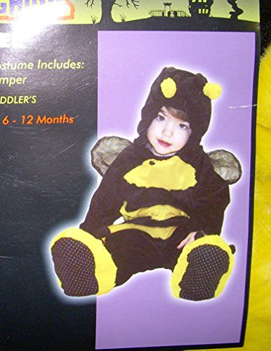 Bee Jumper Halloween Child Costume 6-12 Months NWT