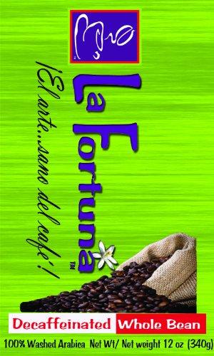 La Fortuna Decaf Roast Whole Coffee Beans