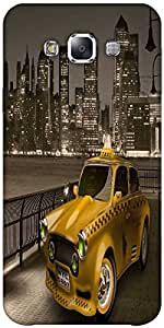 Snoogg New York City Cab 2671 Solid Snap On - Back Cover All Around Protectio...