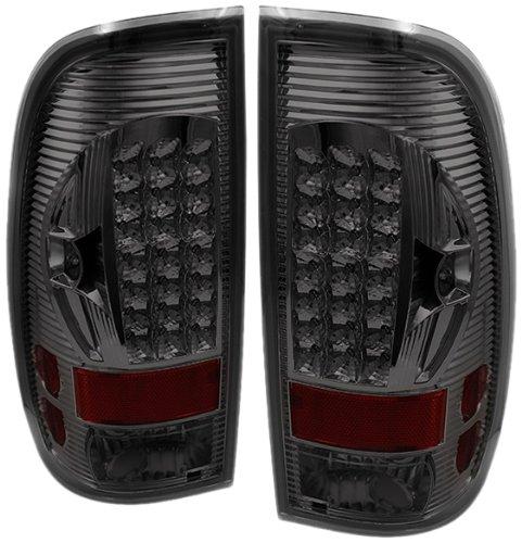 Spyder Auto Alt-On-Ff15097-Led-Sm Ford F150 Styleside/F250/350/450/550 Super Duty Smoke Led Tail Light