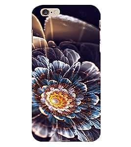 PrintVisa Flower Design 3D Hard Polycarbonate Designer Back Case Cover for Apple iPhone 6S Plus