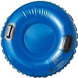 elastofit® Aufblasbarer Schneeflitzer / Schneerutscher / Rodel in blau, 77 cm im Durchmesser