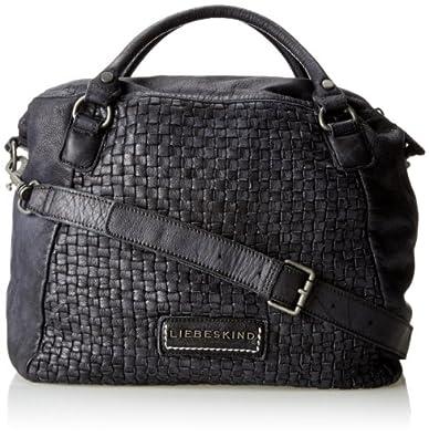 liebeskind berlin michelle 3d plait damen handtasche henkeltasche steel schuhe. Black Bedroom Furniture Sets. Home Design Ideas