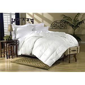 1200 Thread Count Queen 1200TC Siberian Goose Down Comforter 700FP, White 1200 TC