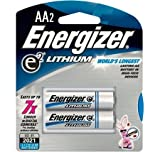 Energizer Ultimate Lithium AA Batteries Qty 2