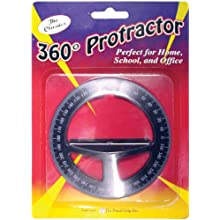 Pencil Grip The Classics 360 Degree Protractor, Color May Vary (TPG-360)