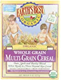 Earth's Best Organic, Whole Grain Multi-Grain Cereal, 8 Ounce (Pack of 12)