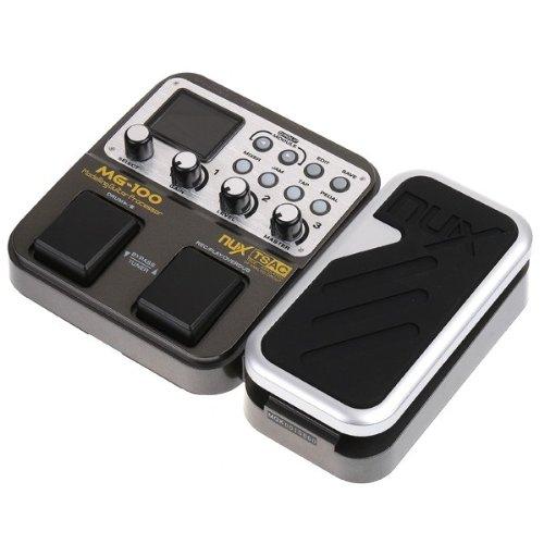 nux mg 100 electric guitar multi effects pedal processor efx amp eq mixer. Black Bedroom Furniture Sets. Home Design Ideas