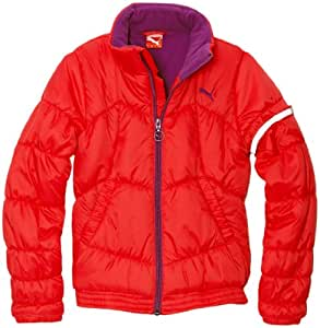 Puma SJ Padded Parka fille Rose FR : 5 ans (Taille Fabricant : 110)