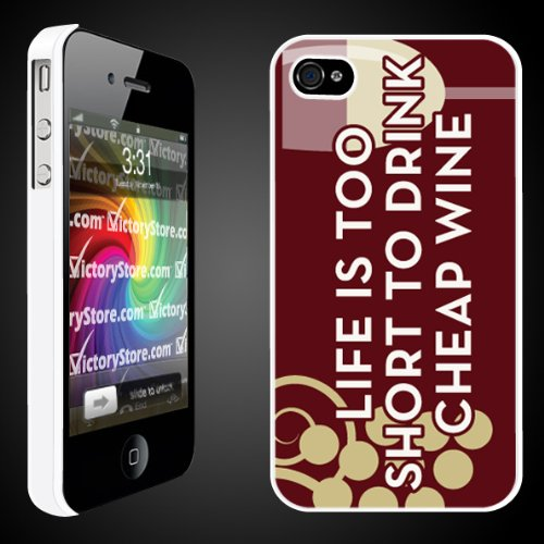 Life's Too Short To Drink Cheap Wine iPhone Hard Case