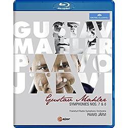 Mahler: Symphonies Nos. 7 & 8 [Blu-ray]