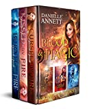 img - for The Blood and Magic Series: Books 1-3: Cursed by Fire, Kissed by Fire, Burned by Fire book / textbook / text book