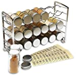 DecoBros Spice Rack Stand holder with...