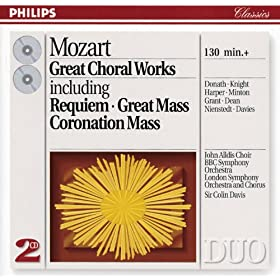 "Mozart: Mass in C minor, K.427 ""Grosse Messe"" - Sanctus: Osanna"