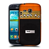Head Case Designs Orange Chorus Guitar Amp Protective Snap on Hard Back Case Cover for Samsung Galaxy S3 III mini I8190