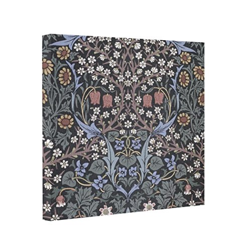 td-mouth-gallery-wrapped-canvas-blackthorn-wallpaper-by-william-morris-canvas-stretcher
