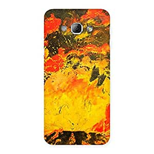 Impressive Modern Art Paint Print Back Case Cover for Galaxy A8
