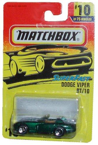 Mattel Matchbox 1996 Superfast Dodge Viper Rt/10 1:64 Scale Die Cast(*various Colors) - 1