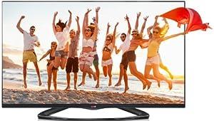 LG 55LA6608 139 cm (55 Zoll) Cinema 3D LED-Backlight-Fernseher (Full HD, 400Hz MCI, WLAN, DVB-T/C/S, Smart TV) schwarz