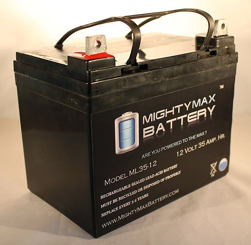 Ml35-12 - 12V 35Ah Invacare Wheelchairs Tricart Replacement Battery