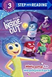 img - for Inside Out: Welcome To Headquarters (Turtleback School & Library Binding Edition) (Step Into Reading - Level 3 - Library) book / textbook / text book