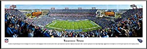 BLAKEWAY PANORAMAS TENNESSEE TITANS - LP FIELD - NFL PANORAMA POSTER PRINT FRAMED by Blakeway Panoramas