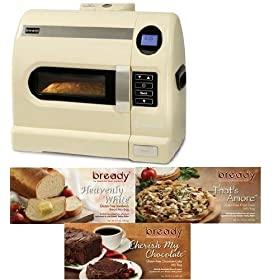 Bready Baking System Gluten Free Bread Machine With 3 Gluten Free Mixes