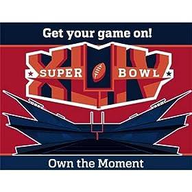 Super Bowl XLIV Party Invitations