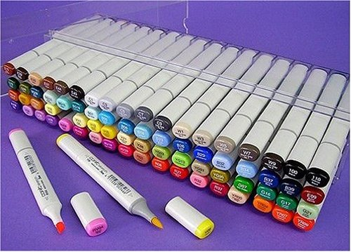 COPIC SKETCH MARKERS SET OF 72 - SCRAPBOOKING,