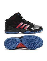 Adidas Cross 'Em 2 Black/Red/Blue Mens Basketball Shoes