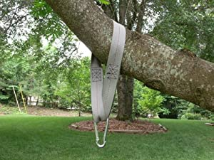 Sixty inch Tree Swing Hanging kit 1 strap and 1 snap hook