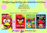 Egmont Books Ltd The Official Angry Birds Egg-Cellent Joke Book Collection 3 books: 1. The Official Angry Birds Side-Splitting Rib-Tickling Joke Book 2. The Official Angry Birds Space Joke Book 3. The Official Angry Birds Seasons Joke Book Age 5+ RR