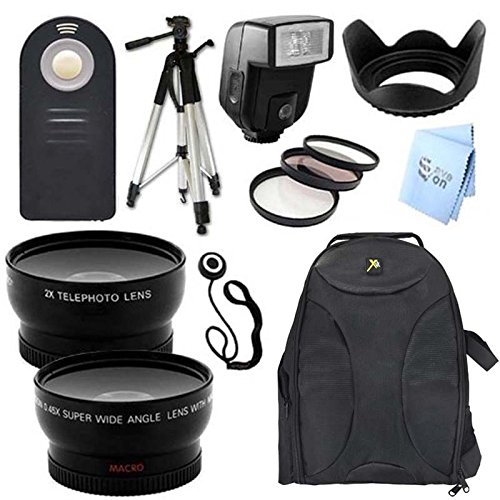 Ultimate Plus Accessory Package For Nikon D3100 And D3200 Digital Slr Cameras